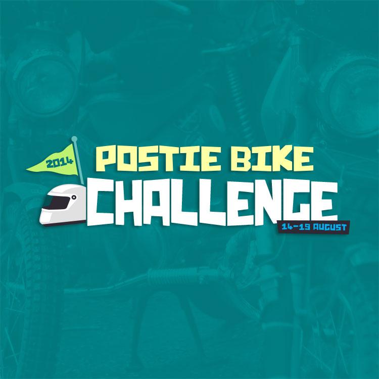 Postie Bike Challenge Landing Page Thumbnail